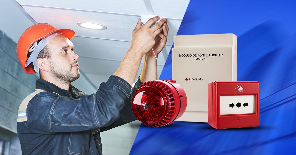 Os 4 principais benefícios de um sistema de detecção e alarme de incêndio